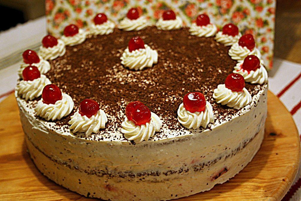 Tort wiśniowy z Czarnego Lasu