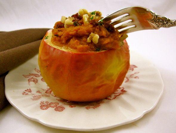Faszerowane jabłka