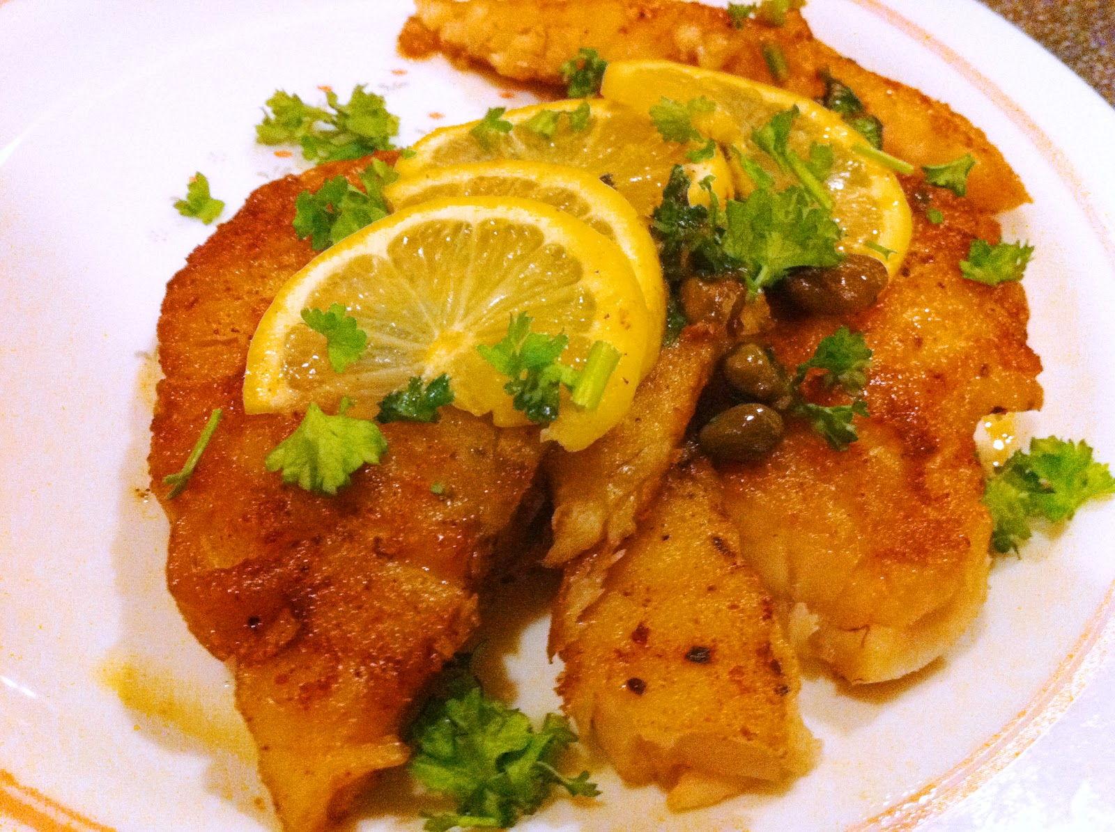 Ryba w marynowanej cytrynie