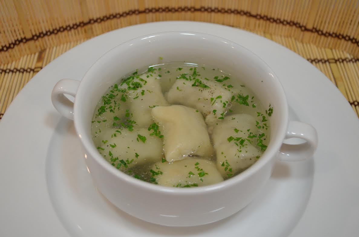 """Zupa z """"leniwych"""" pierogów"""