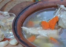 """Rosyjska zupa rybna """"Ucha"""""""