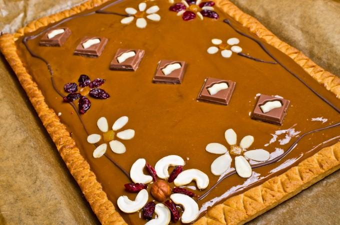 Wykwintny MAZUREK czekoladowy