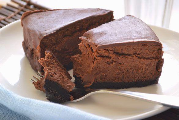 Włoski SERNIK czekoladowy