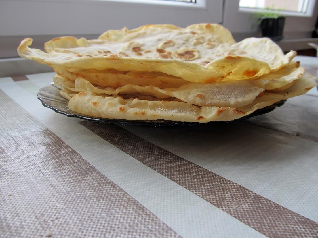Domowe placki do tortilli
