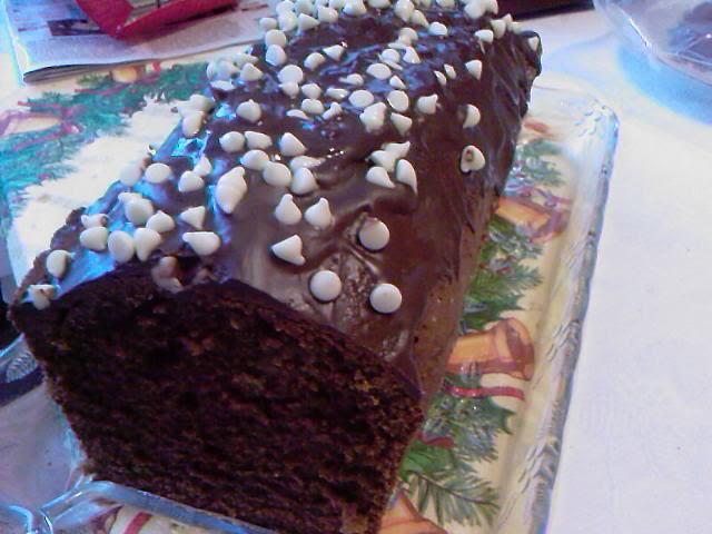 Ciasto kawowe w polewie czekoladowej