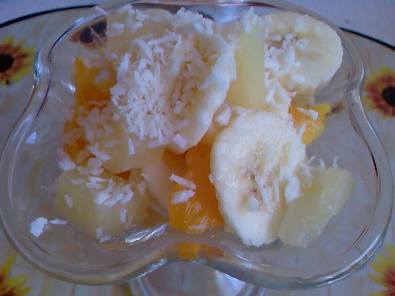 Owocowy pucharek