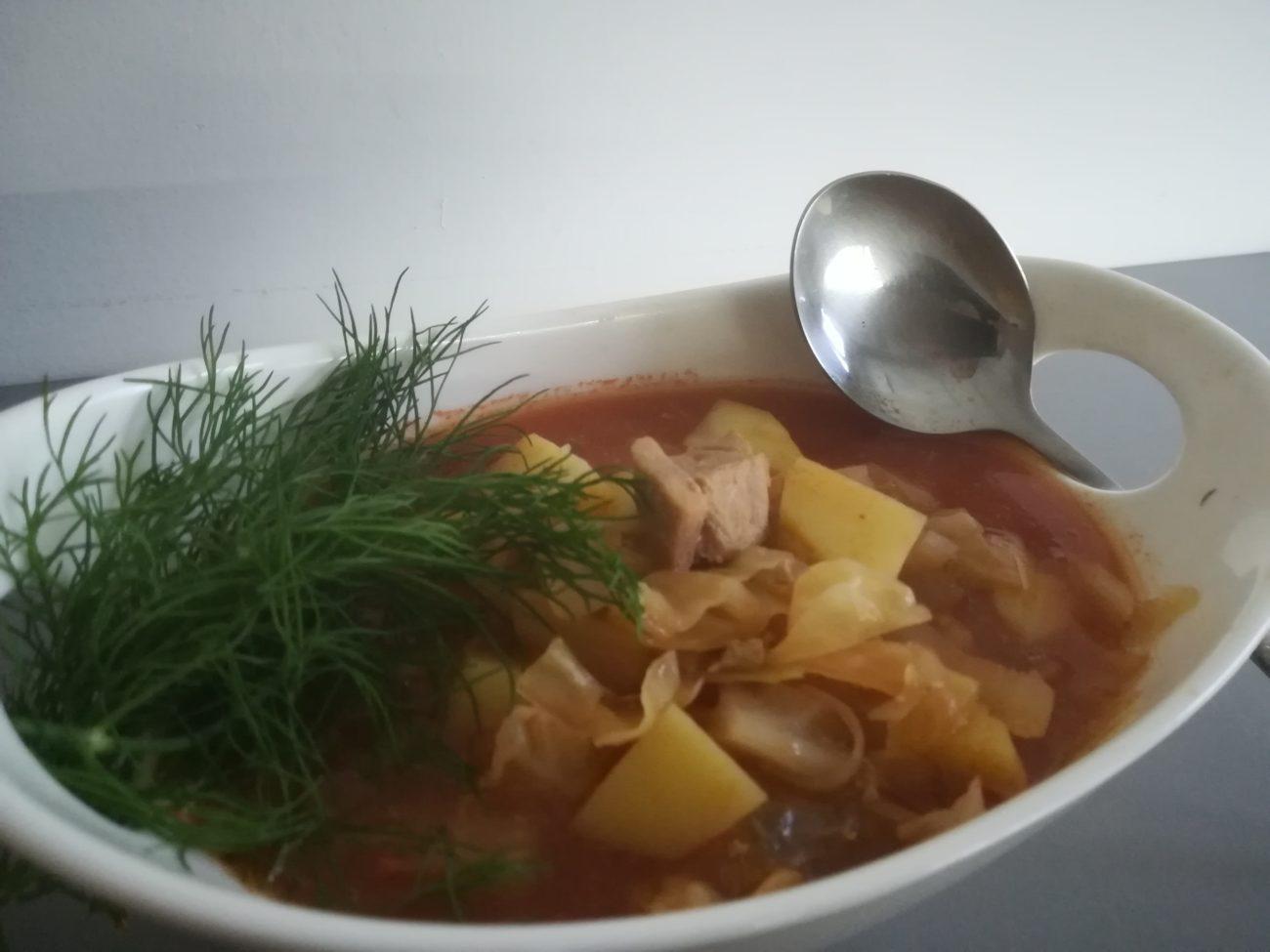 Wiosenna zupa Bigosówka